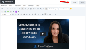 SINDICAR VÍDEOS DE YOUTUBE EN TU BLOG