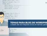temas para blog de WordPress
