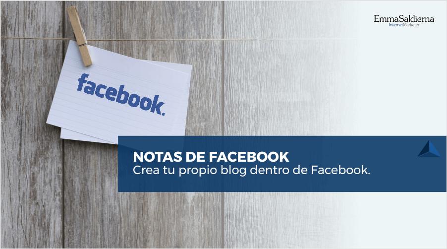 Utiliza las Notas de Facebook como un Blog para tu Negocio