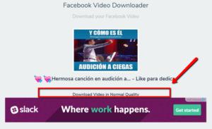 descargar vídeos de transmisión de Facebook