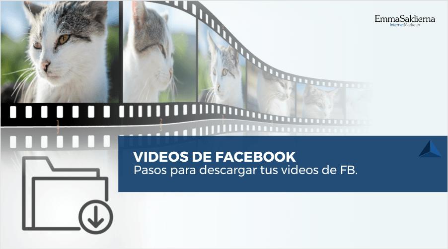 Cómo descargar videos de Facebook sin programas