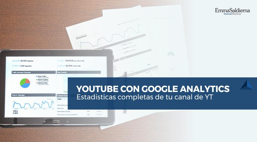 Conectar tu canal de Youtube con Google Analytics